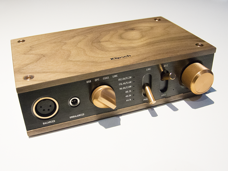 Klipsch Heritage Amplifier - Front View