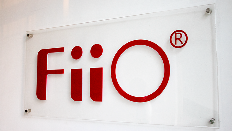 FiiO Signage at Manufacturing Facility