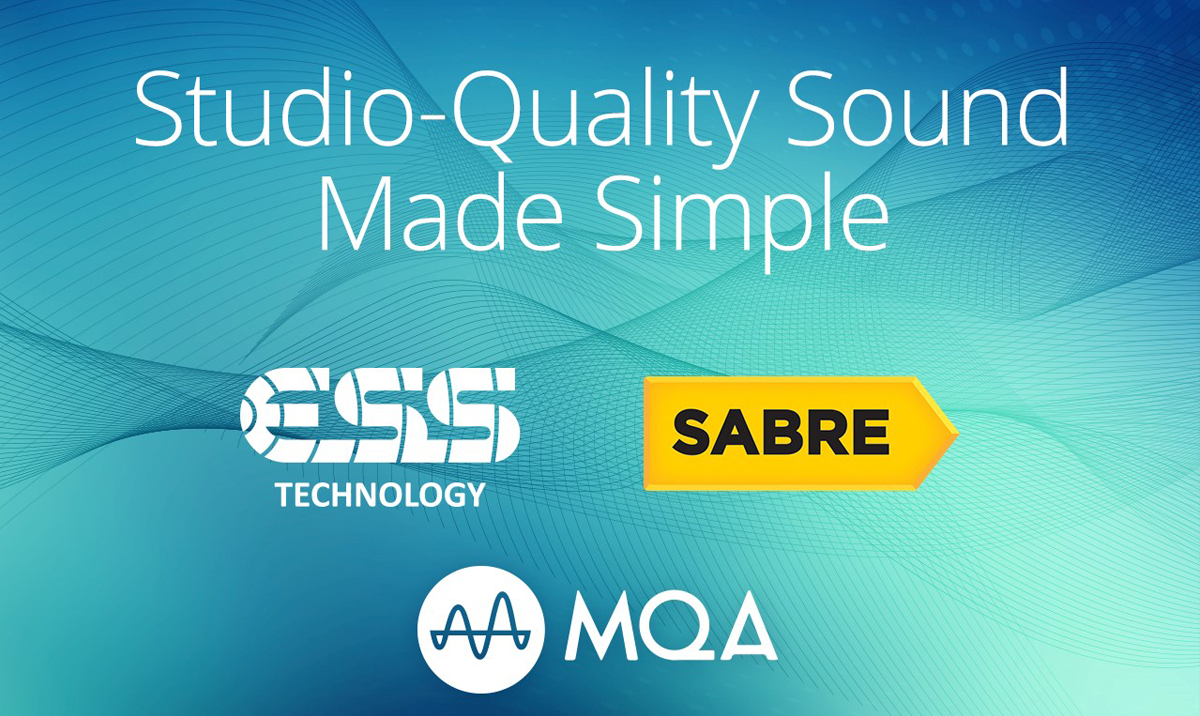 ESS Sabre to integrate MQA