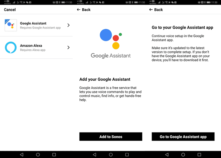 Enabling Google Assistant on Sonos One Part 1
