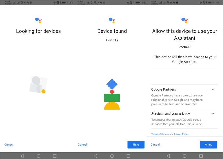 Enabling Google Assistant on Sonos One Part 3
