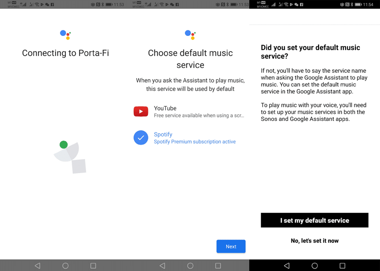 Enabling Google Assistant on Sonos One Part 4